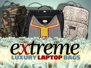 12 extreme (and obscenely expensive) laptop bags