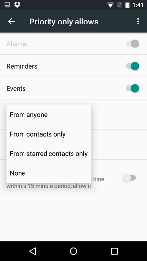 How to use Android Marshmallow's new notifications settings