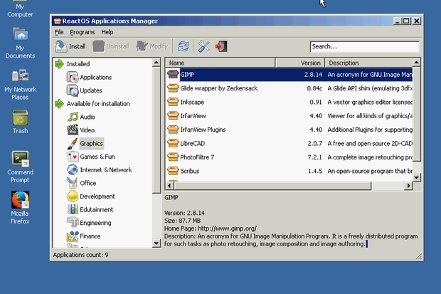 ReactOS review open source replacement Windows