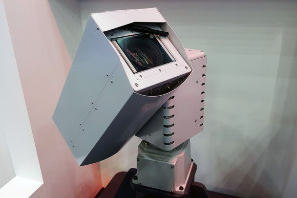 NEC drone camera