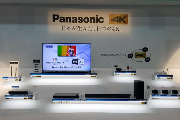 Panasonic 4K products