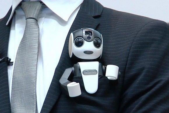 Sharp's Robohon is a cute little robot that doubles as a