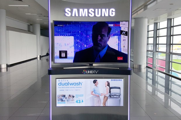 samsung tv airport manila