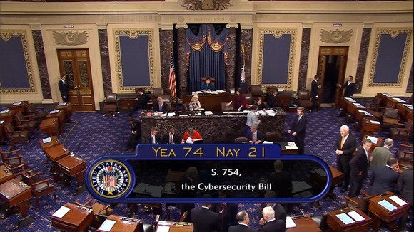 CISA sails through Senate despite tech opposition