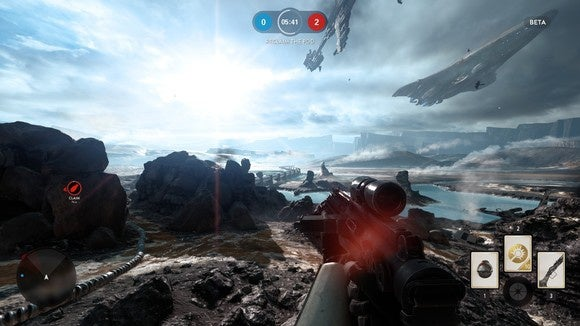 Star Wars Battlefront Beta