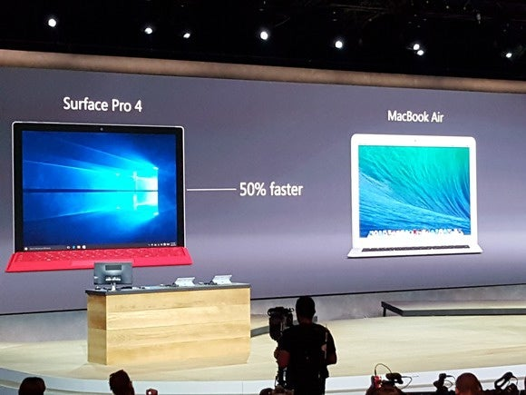 Surface Book vs. MacBook Air