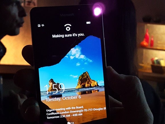 Lumia 950XL Windows Hello