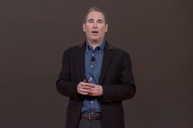 Andy Jassy AWS Reinvent