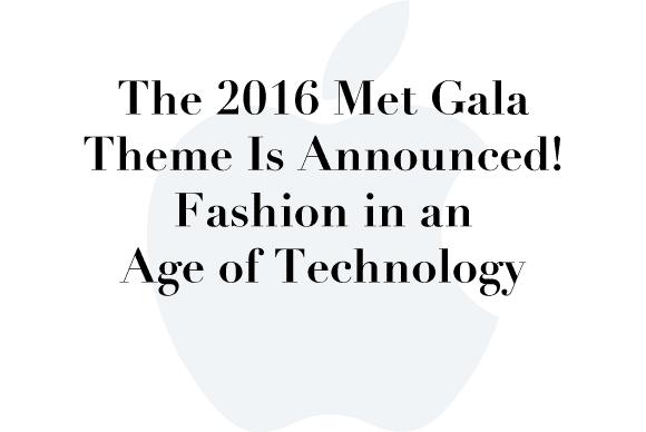 2016 met gala