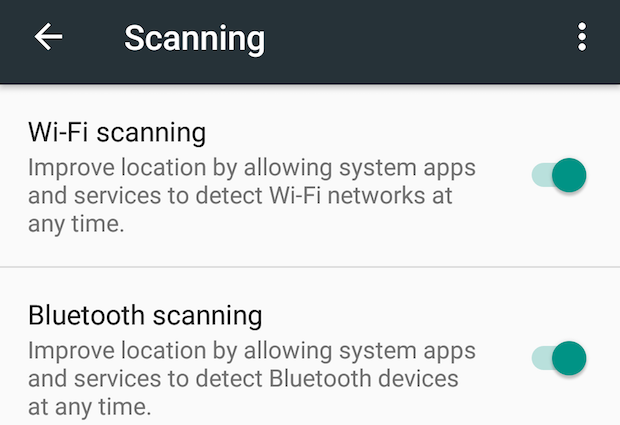 21 bluetooth location scanning