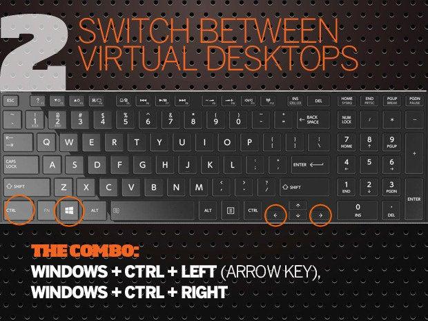 24195da86c1 10 Windows 10 keyboard shortcuts - 2 - switch virtual desktops