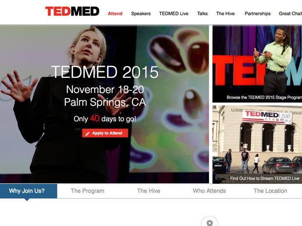 TEDMED website