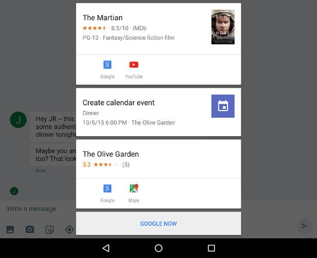 how to set up google now on tap