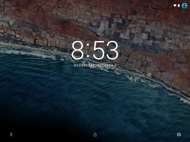 Android 6.0 Marshmallow: Lock Screen