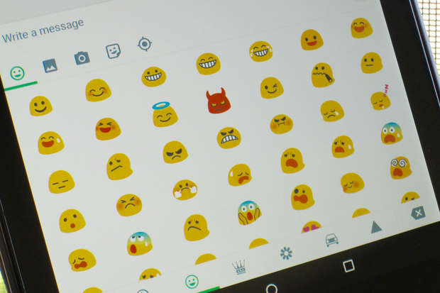 image gallery new android emojis