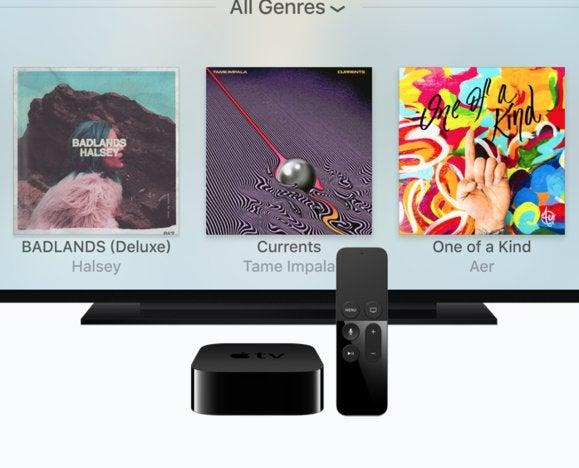 apple music apple tv