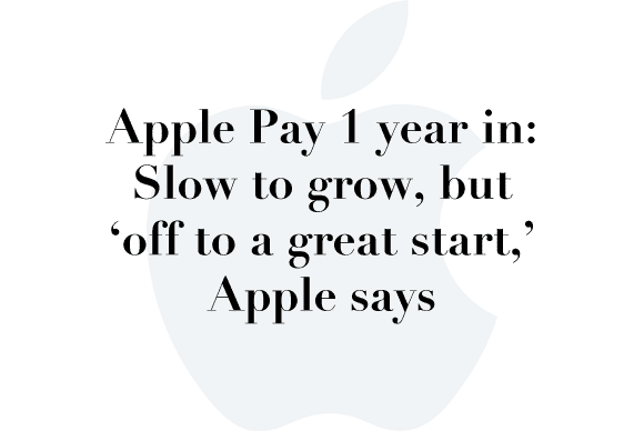 apple pay 1 year