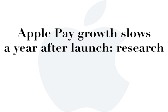 apple pay slows