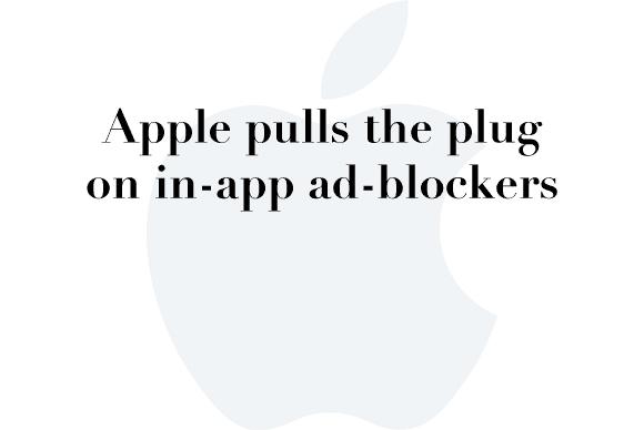 apple pulls ad blockers