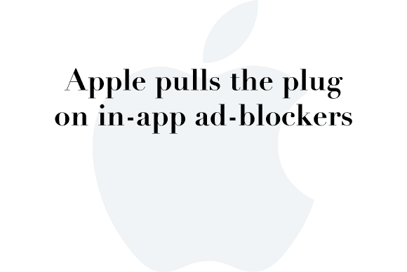 apple pulls ad blockers
