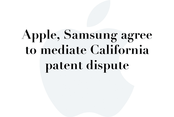 apple samsung mediation
