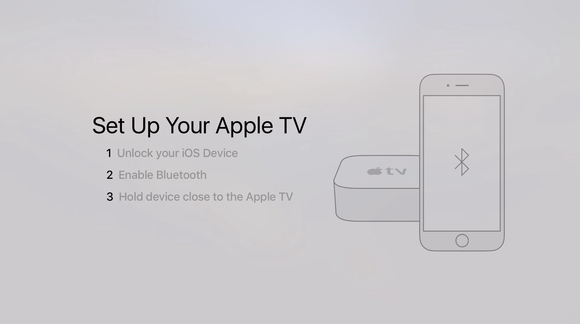 appletv device setup