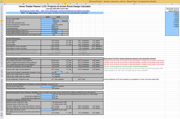 bale spreadsheet