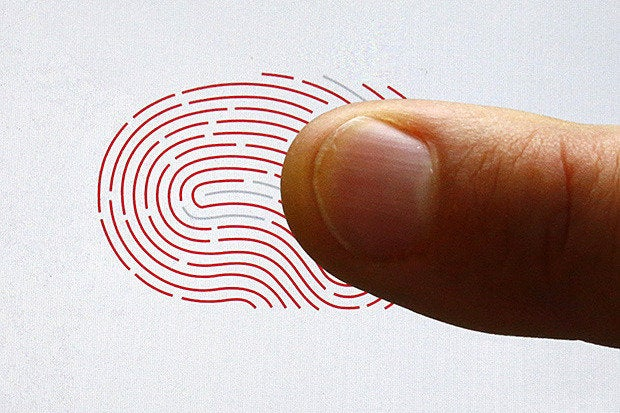 biometrics fingerscan smartphone