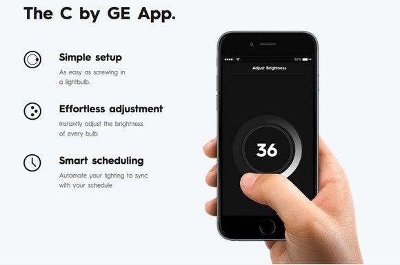 C by GE app