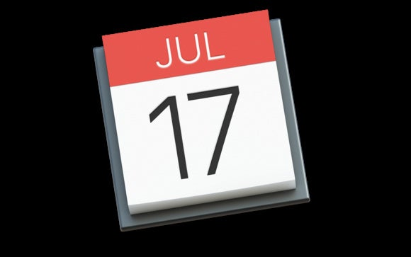 calendar icon el capitan