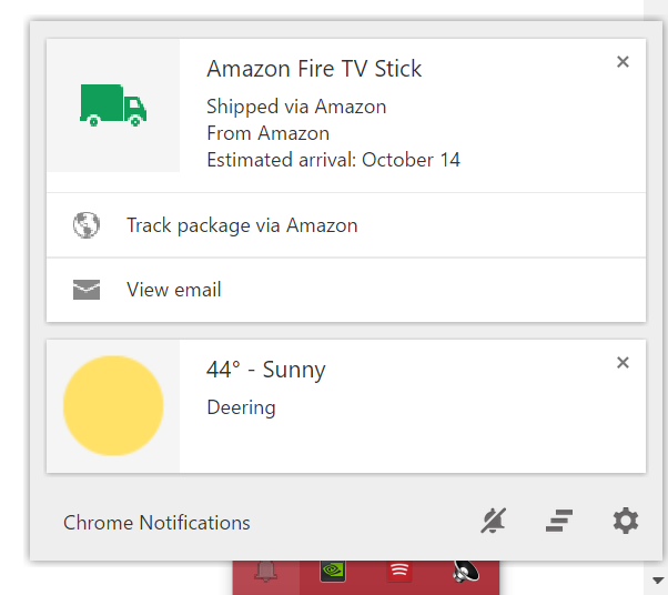Chrome's notification center is the latest casualty in the