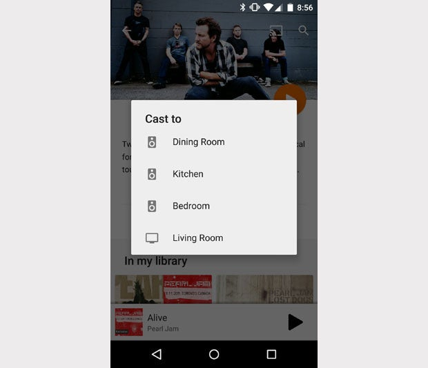 Chromecast Audio Google Play Music