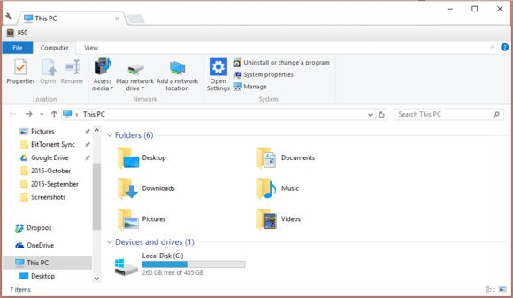 clover file explorer english