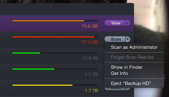 daisydisk 4 scan as administrator
