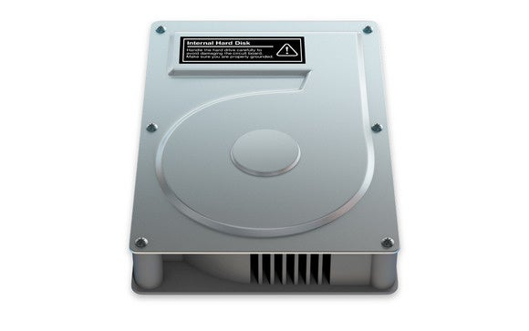 Mac hard drive icon