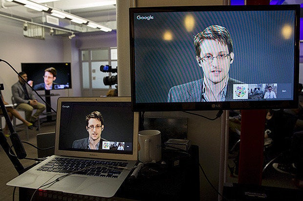 Snowden espouses data ethics and privacy
