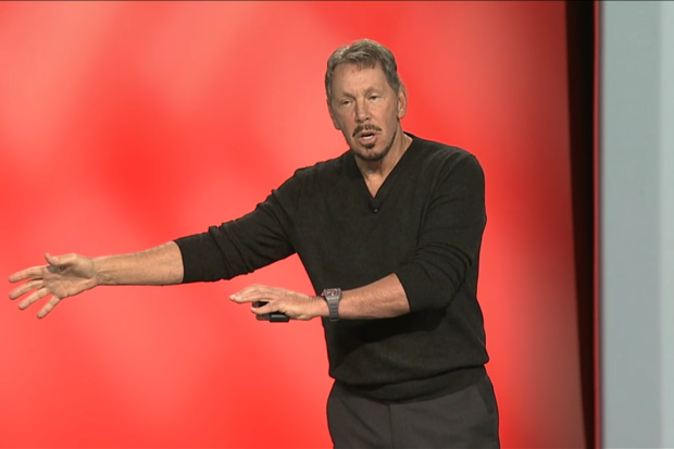 Oracle's Larry Ellison decries poor state of security, says he's fixed it