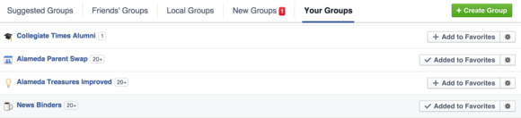 facebook managing groups