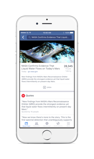 Facebook just made all public posts searchable