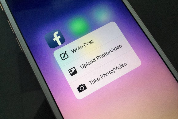 Facebook introduces support for 3D Touch iPhone 6s Apple iOS 9