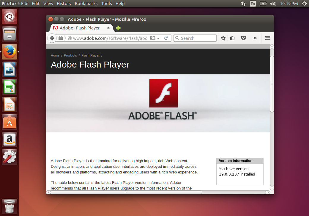 Get Flash For Firefox