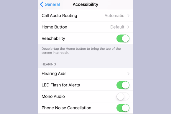 flash the led for alerts