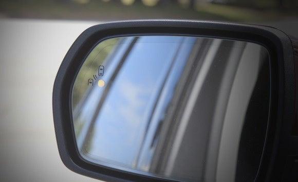 ford edge blind spot led