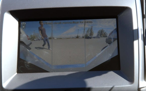 ford edge front camera view