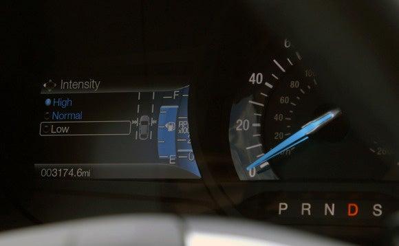 ford edge lane keeping adjust