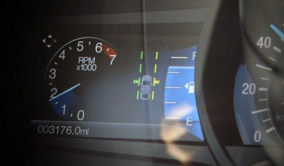 ford edge lane warning