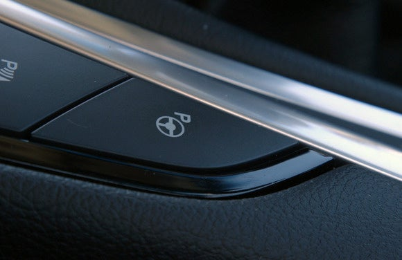 ford edge parking button