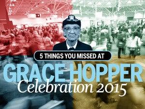 5 inspiring snapshots from Grace Hopper 2015