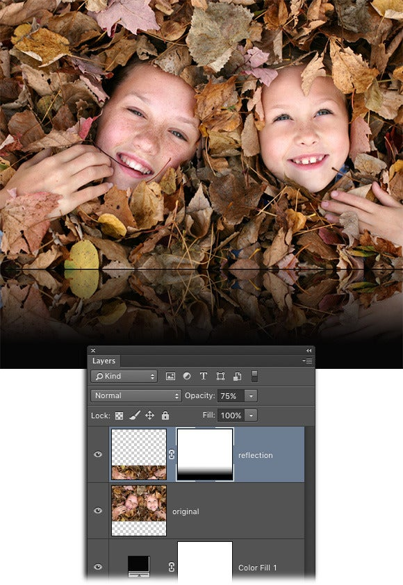 Photoshop Elements 7 Tutorial Creating gradients - YouTube
