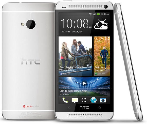 htc one m7 silver three up image 001